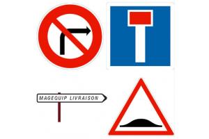 Panneaux de signalisation routière – Equipez-vous et installez vos balises de signalisation avec Magequip