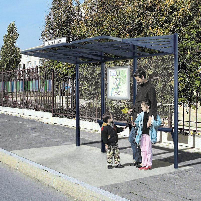 Abri voyageurs - Station bus
