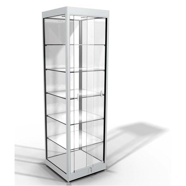 Vitrine de pr sentation vitrines d 39 exposition - Meuble vitrine ikea verre ...
