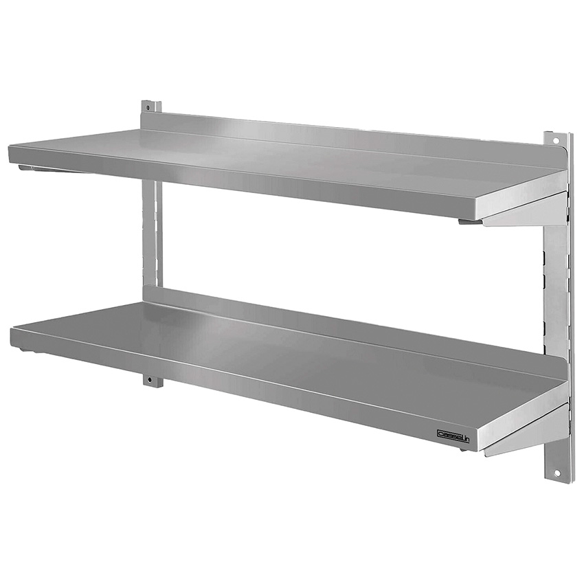 Etag re murale de cuisine inox destockage grossiste for Etagere inox cuisine