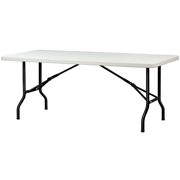 Table pliante polypropyl ne destockage grossiste for Table pliante exterieur professionnel