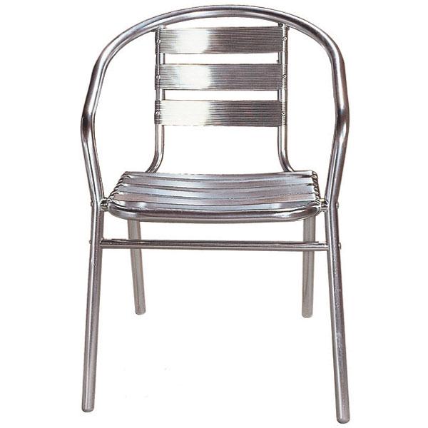 chaise bistro 39 alu destockage grossiste. Black Bedroom Furniture Sets. Home Design Ideas