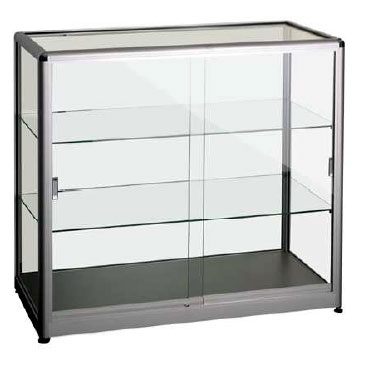vitrine de pr sentation basse destockage. Black Bedroom Furniture Sets. Home Design Ideas
